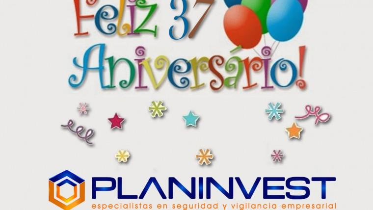 ¡Feliz 37° Aniversario Planinvest!