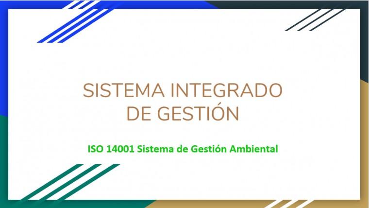Charla Gestión Ambiental – ISO 14001