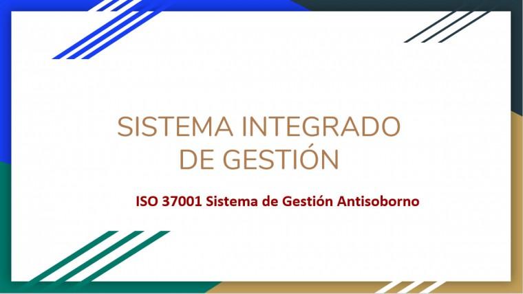 Charla SIstema Antisoborno – ISO 37001