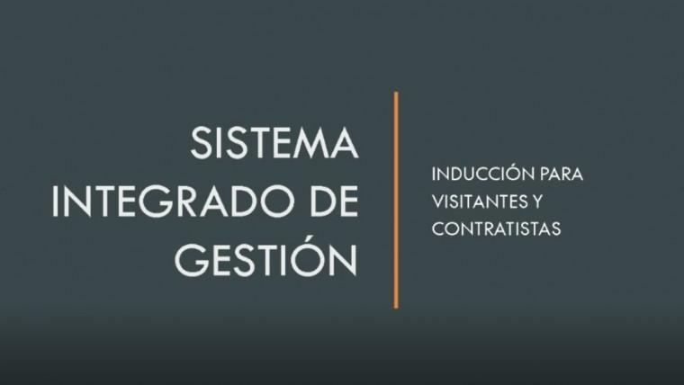 Inducción a Visitantes y Contratistas