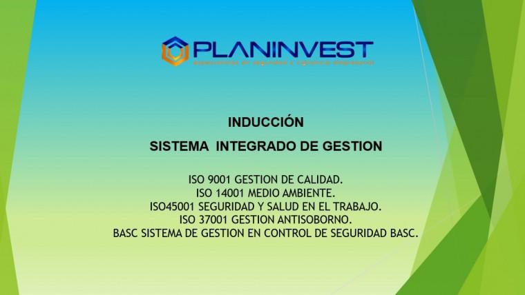 Charla de Inducción al Personal de Planinvest