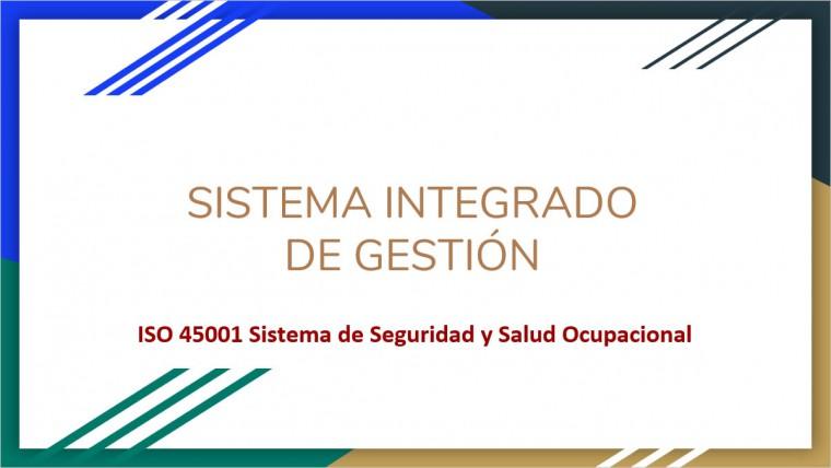 Charla Seguridad y Salud Ocupacional – ISO 45001